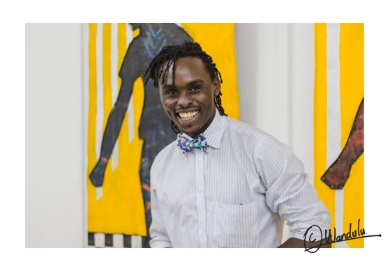 Artist Wandulu Timothy